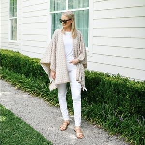 Ann Taylor Sculpting Pocket Skinny Jeans in White